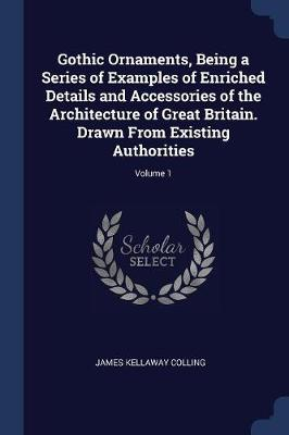 Gothic Ornaments, Being a Series of Examples of Enriched Details and Accessories of the Architecture of Great Britain. Drawn from Existing Authorities; Volume 1 by James Kellaway Colling