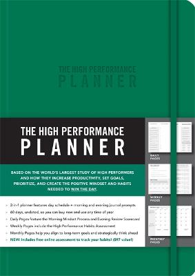 The High Performance Planner by Brendon Burchard