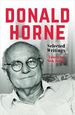 Donald Horne: Donald Horne book