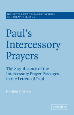Paul's Intercessory Prayers book