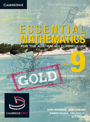 Essential Mathematics Gold for the Australian Curriculum Year 9 by David Greenwood