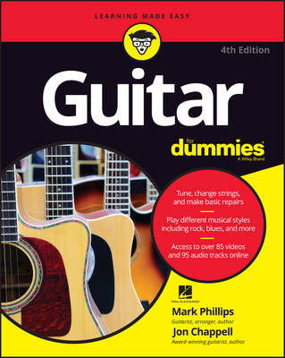 Guitar for Dummies, 4th Edition by Mark Phillips