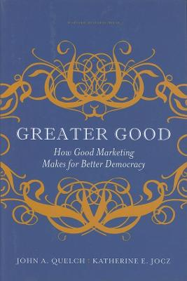 Greater Good book