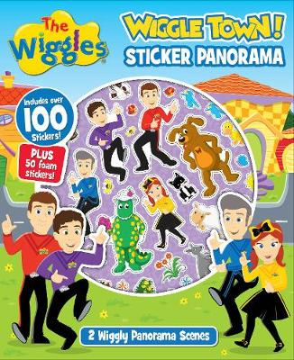 The Wiggles: Wiggle Town Sticker Panorama Book by The Wiggles