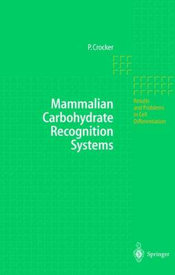 Mammalian Carbohydrate Recognition Systems by Paul Crocker