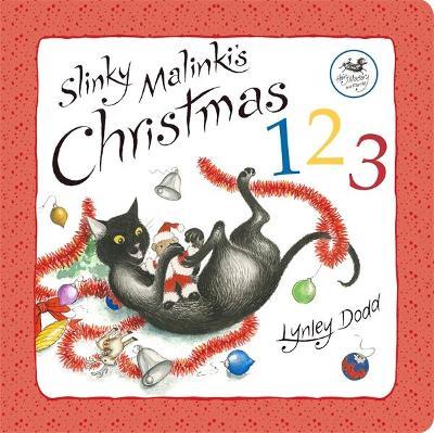 Slinky Malinki's Christmas 123 book