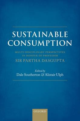 Sustainable Consumption by Alistair Ulph