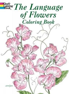 The Language of Flowers Coloring Book by John Green