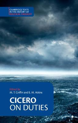 Cambridge Texts in the History of Political Thought: Cicero: On Duties by Marcus Tullius Cicero
