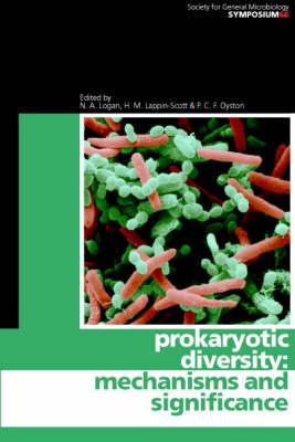 Prokaryotic Diversity by N. A. Logan