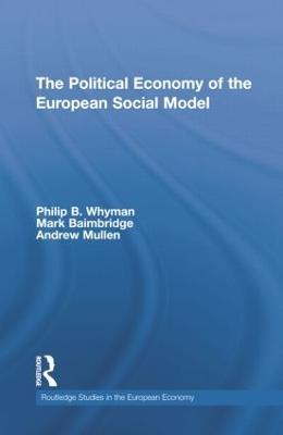 Political Economy of the European Social Model book