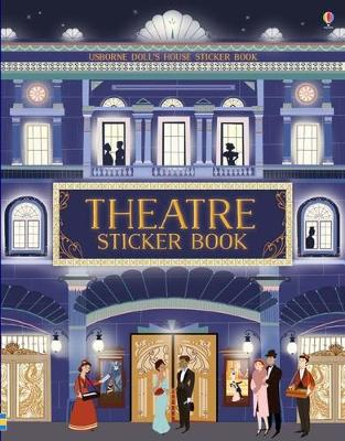 Doll's House Sticker Book Theatre by Abbie Wheatley