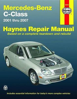 Mercedes-Benz C-Class Repair Manual by Haynes