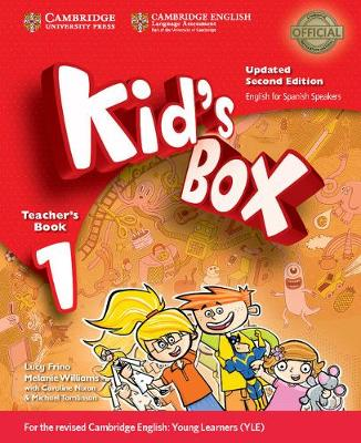 Kid's Box Level 1 Teacher's Book Updated English for Spanish Speakers by Lucy Frino