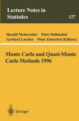 Monte Carlo and Quasi-Monte Carlo Methods 1996 by Harald Niederreiter