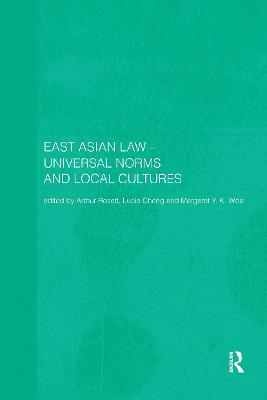 East Asian Law by Lucie Cheng