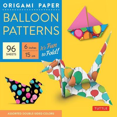 Origami Paper - Balloon Patterns - 6