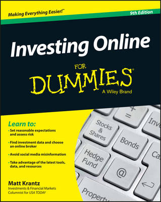 Investing Online for Dummies, 9th Edition book