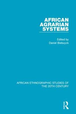 African Agrarian Systems book