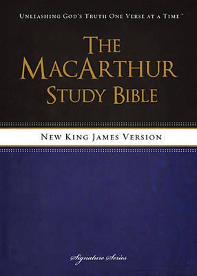 NKJV, The MacArthur Study Bible, Hardcover by John F. MacArthur