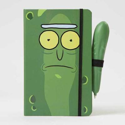 Rick and Morty: Pickle Rick Hardcover Ruled Journal with Pen by Insight Editions