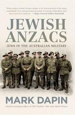 Jewish Anzacs book