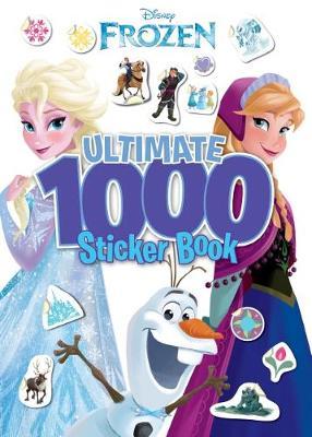 FROZEN 1000 STICKER BK book