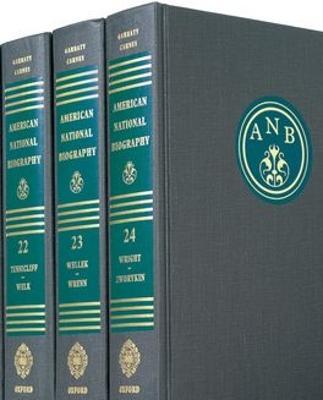 American National Biography by John A. Garraty