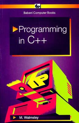 Programming in C++ book