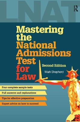 Mastering the National Admissions Test for Law book