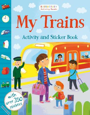 My Trains Activity and Sticker Book by Samantha Meredith