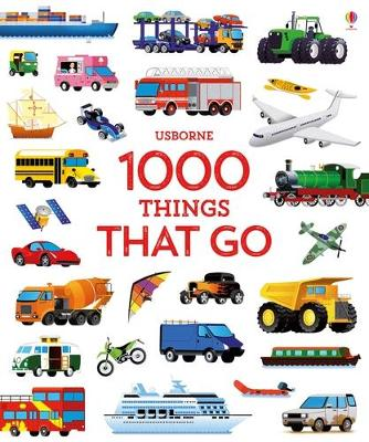 1000 Things That Go book
