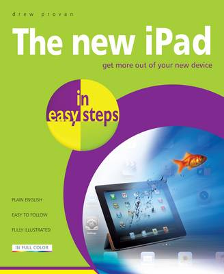 New iPad in Easy Steps by Drew Provan