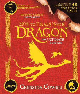 How to Train Your Dragon: The Ultimate Collector Card Edition: Book 1 by Cressida Cowell