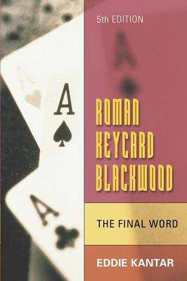 Roman Keycard Blackwood - The Final Word book