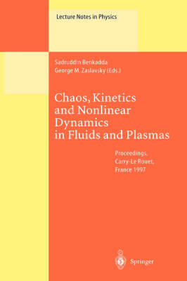 Chaos, Kinetics and Nonlinear Dynamics in Fluids and Plasmas by George M. Zaslavsky