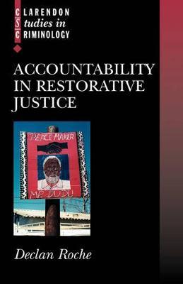 Accountability in Restorative Justice book