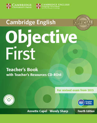 Objective First Teacher's Book with Teacher's Resources CD-ROM book