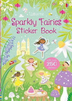 Sparkly Fairies Sticker Book by Kirsteen Robson
