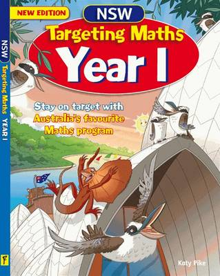 NSW Targeting Maths Year 1 by Katy Pike