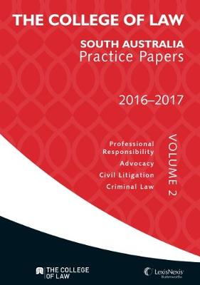 The College of Law Practice Papers 2016-2017 Volume 2 book