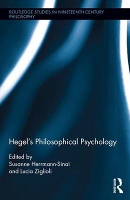 Hegel's Philosophical Psychology book