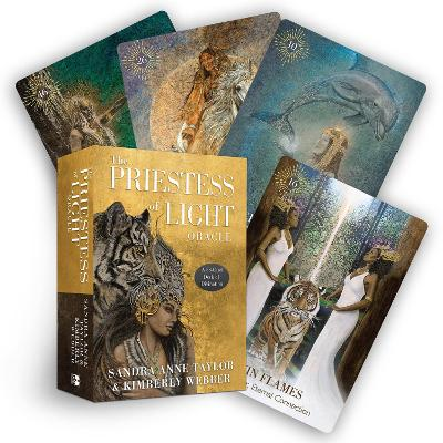 The Priestess of Light Oracle: A 53-Card Deck of Divination by Sandra Anne Taylor
