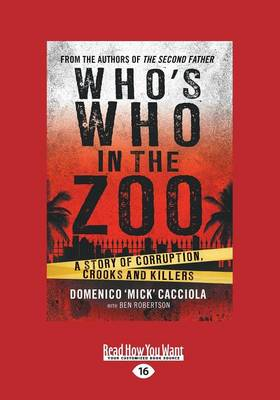 Who's Who in the Zoo by Ben Robertson