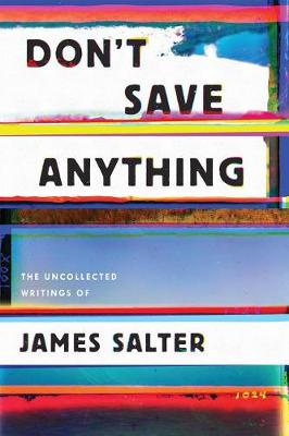 Don't Save Anything book