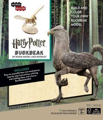 Incredibuilds: Harry Potter: Buckbeak 3D Wood Model and Booklet by Jody Revenson