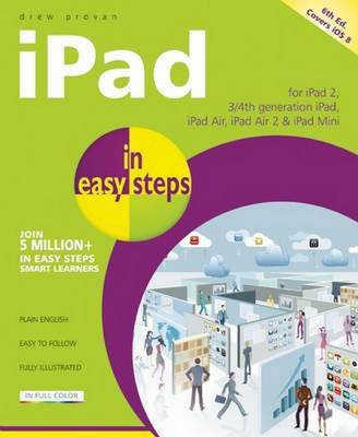 iPad in Easy Steps by Drew Provan