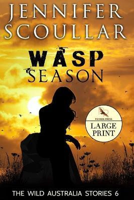 Wasp Season - Large Print book