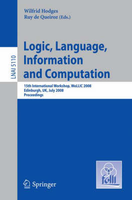 Logic, Language, Information and Computation by Wilfrid Hodges