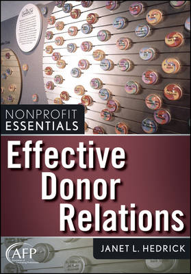 Effective Donor Relations book